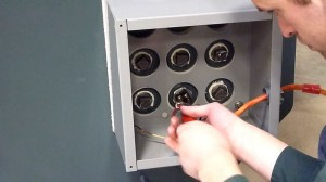Install Electric Element Box